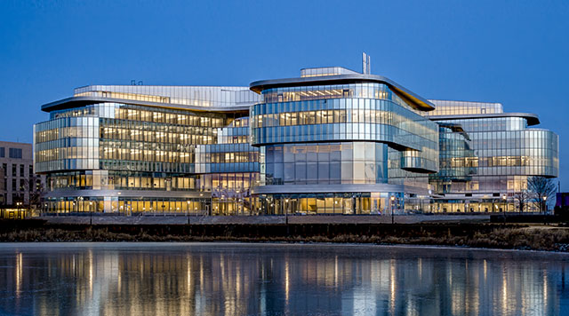 Kellogg's new Global Hub building