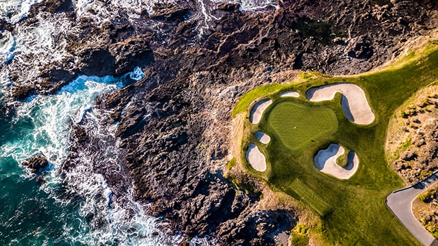Golf at Pebble Beach, Cornerstone