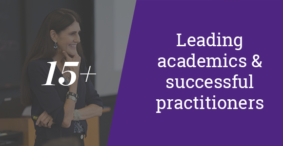 15+ leading academics & successful practitioners