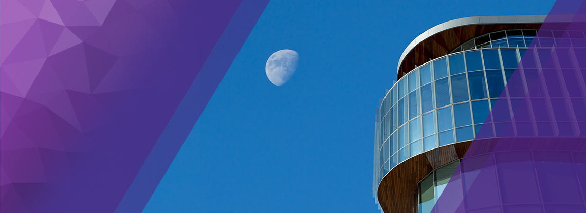 Kellogg School of Management Global Hub with Moon