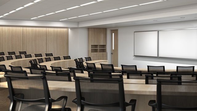 Coral Gables classroom at Northwestern