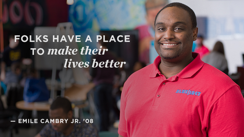 Folks have a place to make thier lives better - Emile Cambry Jr. | Social Impact | Kellogg School