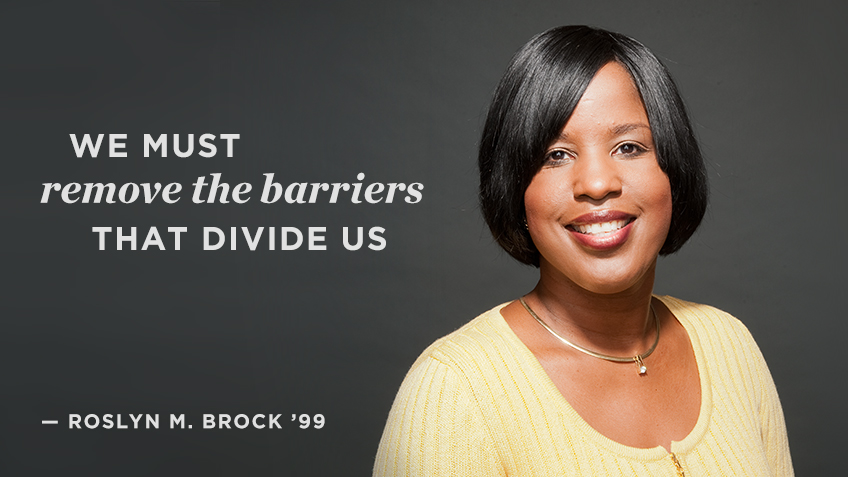 We must remove the barriers that divide us - Roslyn Brock | Social Impact | Kellogg School