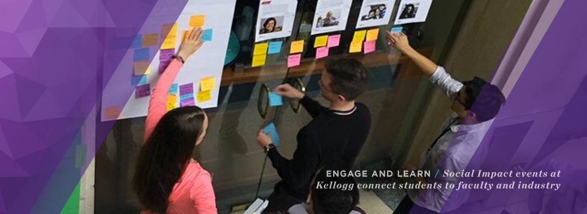 Discover the events in the social impact space at Kellogg