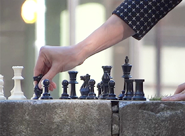 In some instances, there are similarities between chess and the psychology of trust.
