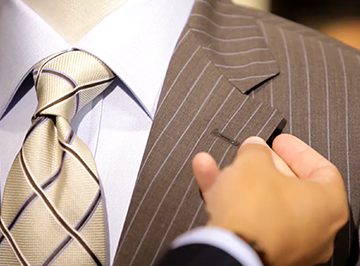Harry Rosen establishes consumer trust with every suit they sell.