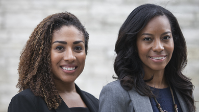 Carmen Sebro and Domonique Powell-Austin have been awarded the American Association of University Women (AAUW) 2015–16 Selected Professions Fellowship.