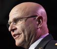 Army Lt. Gen. H.R. McMaster uses recent military history to highlight obstacles businesses could face