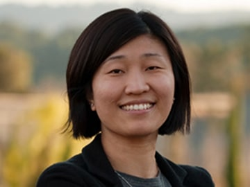 A portait of Jenny Lee, class of '01, who has become one of Forber' top tech investors.