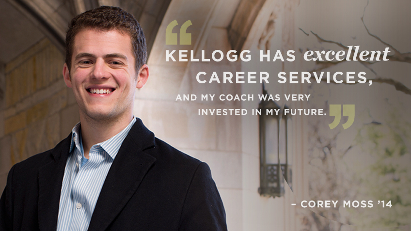 Corey Moss discusses Kellogg MSMS (Masters in Management) experience