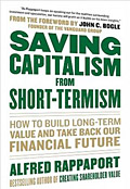 Saving Capitalism From Short-Termism