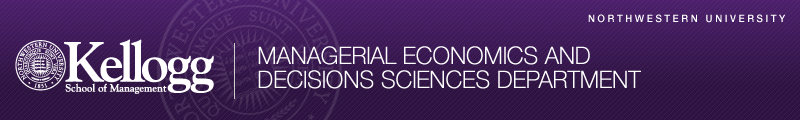 Managerial Economics & Decision Sciences