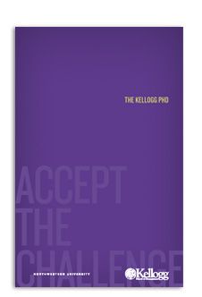 Kellogg PhD Brochure