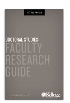 Doctoral Studies - Faculty Research Guide