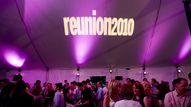 More than 1,700 alumni attended the 2010 Kellogg Reunion. In addition to social events, the weekend featured a variety of MBA Updates and Career Management Center workshops.