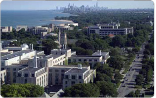 Evanston and Chicago