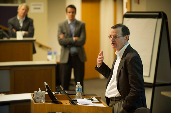 Kellogg HEMA Case Competition 2014 Senior Associate Dean McDonald