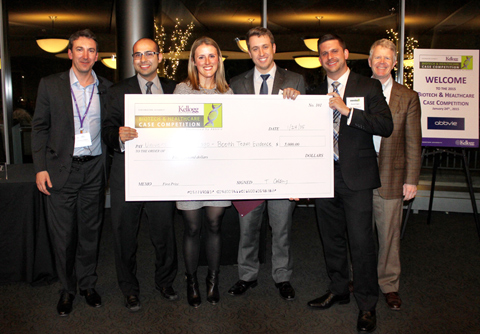Chicago Booth wins First Prize at 2015 Biotech case competition