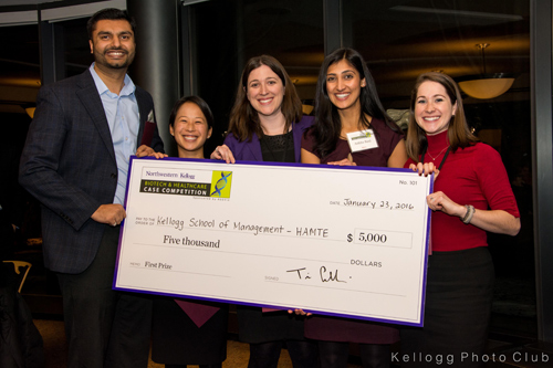 Biotech Case Competition 2016 winners