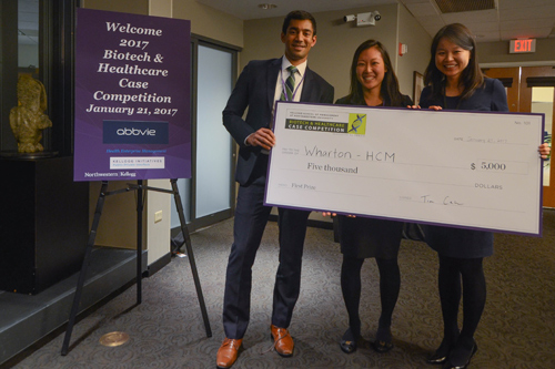 Biotech Case Competition 2017 winners
