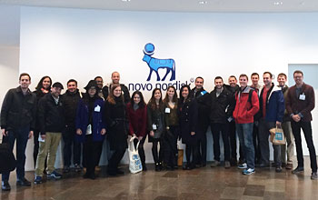 Students at Novo Nordisk