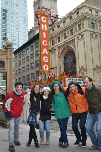 Exchange Students in Chicago