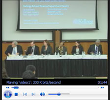 Watch video of Federal Bailout Analysis