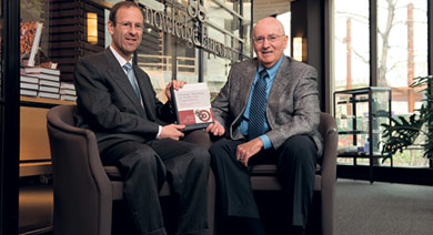 Professor Joel Shalowitz and Professor Philip Kotler