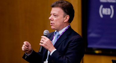 Republic of Colombia Minister of National Defense Juan Manuel Santos