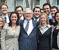 Warren Buffett visited with Kellogg students this past spring