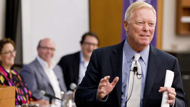 "Former U.S. Rep. Dick Gephardt: ""The problem with talking about a collaboration between private companies is very simple: It's called intellectual property."""