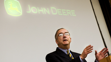Sam Allen, chairman and CEO of Deere & Company