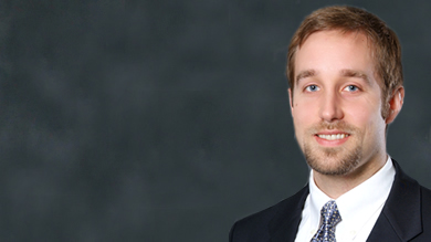 Brian Gunia, a Ph.D. student in management and organizations