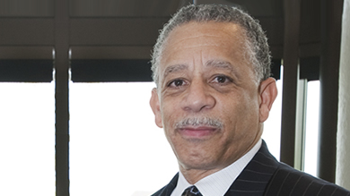 John W. Bluford '75, president and CEO of Truman Medical Centers and recipient of the 2011 Laura G. Jackson Award