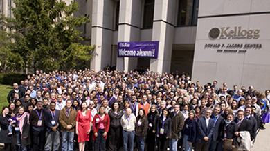 Alumni traveled from around the world to attend their Kellogg reunion April 29-May 1. The weekend's highlights included class parties, performances and an all-class reception.