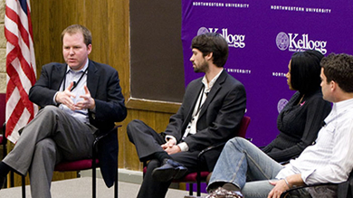 Can the next wave of activism be driven by social media? A panel of experts addressed that question at the 2011 Kellogg Tech Conference on April 9.