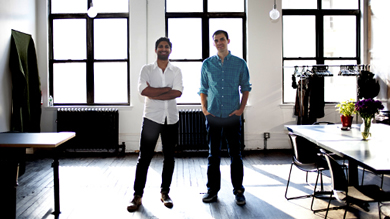 Start me up: Rishi Prabhu '11 and Steven Szaronos '11