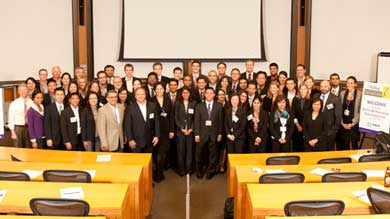 MBA students from the United States, the United Kingdom and Mexico traveled to Kellogg to compete in the 2012 Kellogg Biotech and Healthcare Case Competition