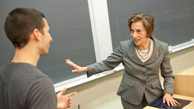 U.S. Rep. Jan Schakowsky, who delivered the keynote address during Leadership Week