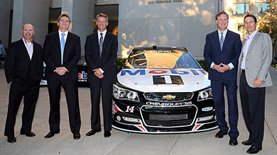 NASCAR executives talk change management and the risky decisions that have paid off in big ways