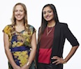 Nicole Staple '12 and Sonali Lamba '12 founded Brideside, an online boutique to help busy bridal parties prepare for the big day.