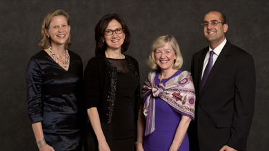 Kellogg honored four of its alumni May 12 for their contributions to society as well as their commitment to the school.
