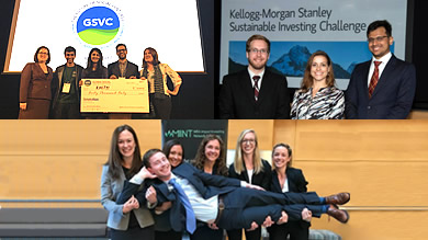 Kellogg teams awarded for their impact at recent competitions: GSVC, K-MSSIC, MIINT