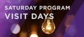 Saturday Program Visit Days