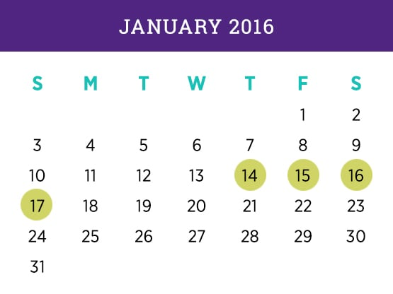 Kellogg Executive MBA Program — Miami January 2016 Schedule