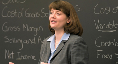 Professor of Accounting Beverly Walther