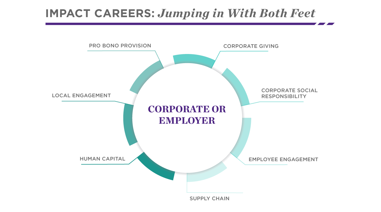 Possible Corporate or Employer Impact Careers | Social Impact | Kellogg School