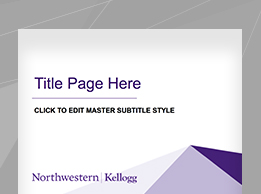 kellogg marketing & communications | downloads, Presentation templates