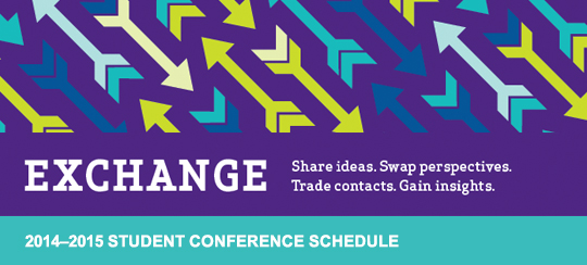 2014-2015 Student Conference Schedule - Exchange
