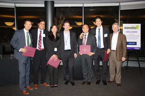 Cornell Johnson Graduate School of Management Third Place winners